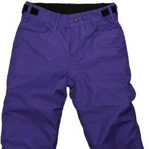 Iceburg Outerwear Youth Ski Pants Purple 14/16 L